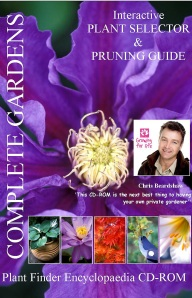 Plant Finder and pruning guide CD-ROM 2,700 UK plant database. PC & MAC compatible