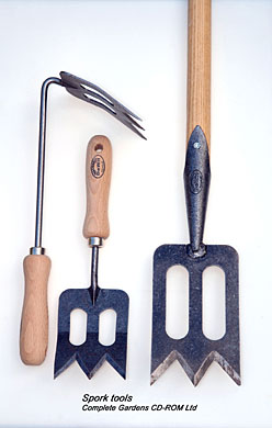 Examples of the Spork gardening tools